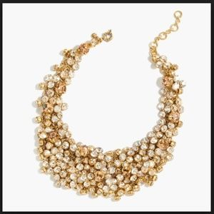 J. Crew Crystal Jumble Necklace